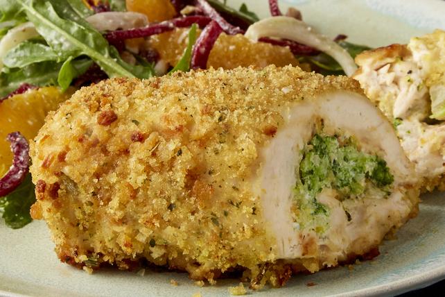 Poitrine poulet brocoli